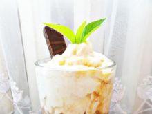 Jagodowy deser kawowy