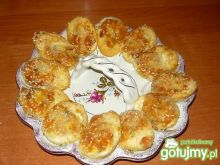 Jaja w panierce sezamowej