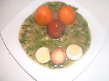 Jaja w sosie szczypiorkowym