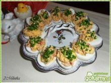 Jajeczka nadziewane tuńczykiem