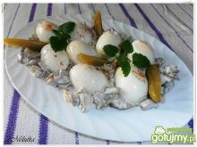 Jajeczka w tatarskim sosie