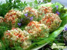 Jajeczka wiosenne z sałatką