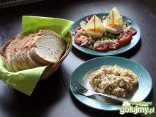 Jajeczna wariacja na śniadanie