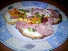 Jajeczne śniadanko