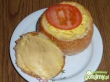Jajecznica w bułce
