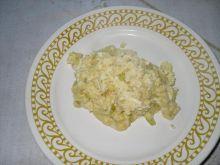 jajecznica z cebulą