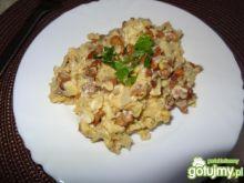 Jajecznica z kurkami  3