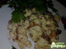 Jajecznica z kurkami Zub3r'a