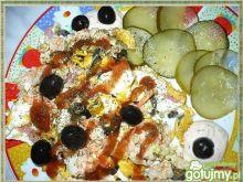 Jajecznica z oliwkami 4