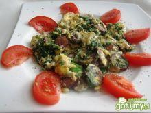 Jajecznica ze szpinakiem wg Joli