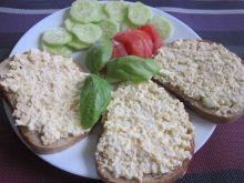 Jajeczno-serowa pasta kanapkowa