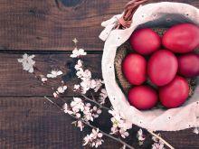 Naturalnie barwione jajka
