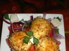 Jajka egipskie z dukkah