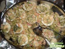 jajka faszerowane brokułami