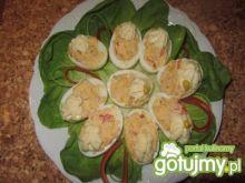 Jajka faszerowane papryka i serkiem