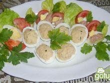 Jajka faszerowane pastą tuńczykową
