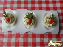 Jajka faszerowane pastą z koperkiem