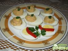 Jajka faszerowane pasztem