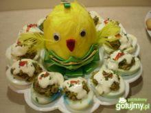 Jajka faszerowane pieczarkami 3