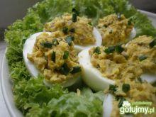 Jajka faszerowane pieczarkami 9