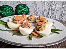Jajka faszerowane sardynkami