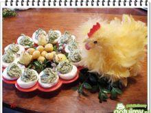 Jajka faszerowane szpinakiem \\\\\\eli