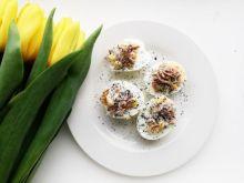 Jajka faszerowane tuńczykiem i kukurydzą