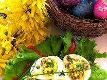 Jajka faszerowane wątróbką