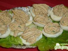 Jajka faszerowane wędzoną makrelą 2