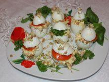 Jajka faszerowane z kiełkami