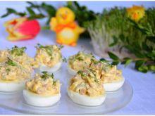 Jajka faszerowane z kukurydzą