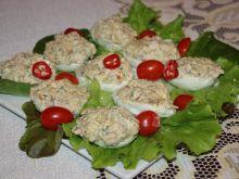 Jajka faszerowane z makrelą