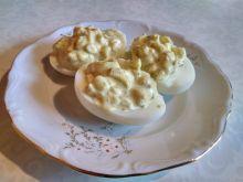 Jajka faszerowane ze śledziem