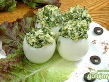 Jajka faszerowane zieleniną