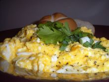 Jajka na śmietanie