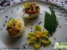 Jajka nadziewane pastą chrzanową 2