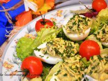 Jajka nadziewane pastą z awokado