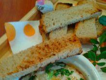 Jajka pieczone w kokilkach z tościkami