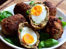Jajka po szkocku w panierce z jagnięciny kofta