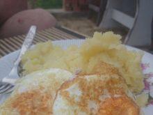 Jajka sadzone na szynce