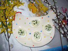 Jajka świąteczne  z koperkiem i szczypiorkiem