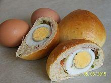 Jajka w cieście chlebowym