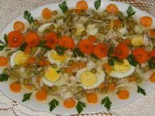 Jajka w galaretce drobiowej