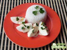 Jajka w pikantnym sosie musztardowym