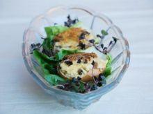 Jajka w skorupkach z suszonymi grzybami