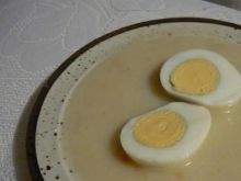 Jajka w sosie chrzanowym