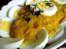 Jajka w sosie curry