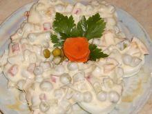 Jajka w sosie paprykowo- groszkowym