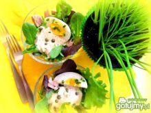 Jajka w sosie tuńczykowym odświętnie