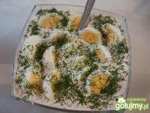 Jajka w wiosennym sosie 3